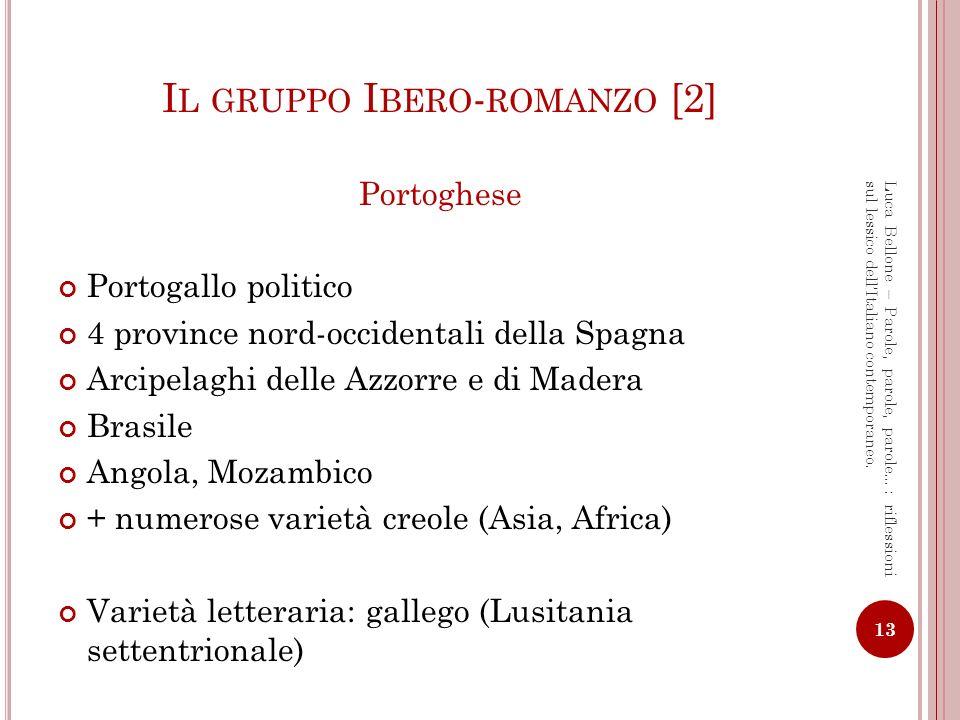 Il gruppo Ibero-romanzo [2]